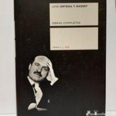 Libros: JOSÉ ORTEGA Y GASSET TOMO II. 1916. Lote 237406995