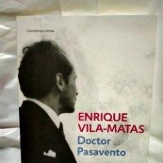 Livres: ENRIQUE VILA-MATAS .DOCTOR PASAVENTO. BOOKET. Lote 238512215