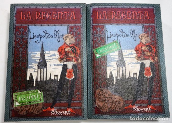 LA REGENTA. LEOPOLDO ALAS, CLARÍN. FACSÍMIL DE LA 1ª ED., DE 1884-5 LITERATURA ESPAÑOLA S. XIX (Libros Nuevos - Narrativa - Literatura Española)