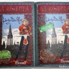 Libros: LA REGENTA. LEOPOLDO ALAS, CLARÍN. FACSÍMIL DE LA 1ª ED., DE 1884-5 LITERATURA ESPAÑOLA S. XIX. Lote 239866240