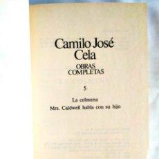 Libros: CELA: TOMO 5 DE LAS OBRAS COMPLETAS. Lote 240273450