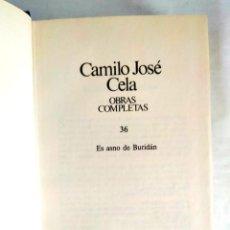 Libros: CELA: TOMO 36 DE LAS OBRAS COMPLETAS. Lote 240275535