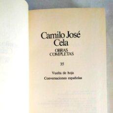 Libros: CELA: TOMO 35 DE LAS OBRAS COMPLETAS. Lote 240275865