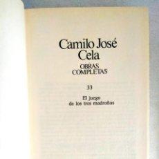 Libros: CELA: TOMO 33 DE LAS OBRAS COMPLETAS. Lote 240276925