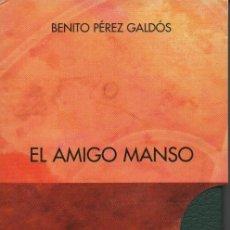 Libros: EL AMIGO MANSO.2 VOLÚMENES.BENITO PÉREZ GALDÓS.SIMANCAS EDICIONES (EL PARNASILLO).2006. NUEVO.. Lote 244794550