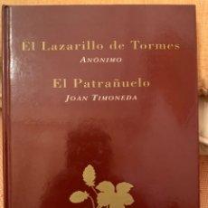Libros: EL LAZARILLO DE TORMES - EL PATRAÑUELO. Lote 245068835