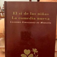 Libros: EL SI DE LAS NIÑAS - LA COMEDIA NUEVA. Lote 245070740