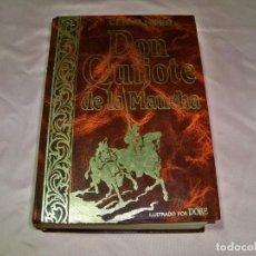 Libros: LIBRO DON QUIJOTE DE LA MANCHA ILUSTRADO POR DORE , ALBOR LIBROS. Lote 245312325