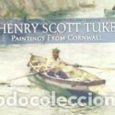 Libros: HENRY SCOTT TUKE PAINTINGS FROM CORNWALL. Lote 245414860
