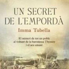 Libros: UN SECRET DE LEMPORDÀ. Lote 245880690