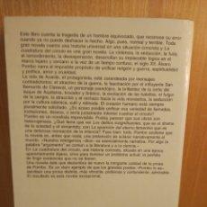 Libros: ÁLVARO POMBO. LA CUADRATURA DEL CÍRCULO. ANAGRAMA.. Lote 245989425