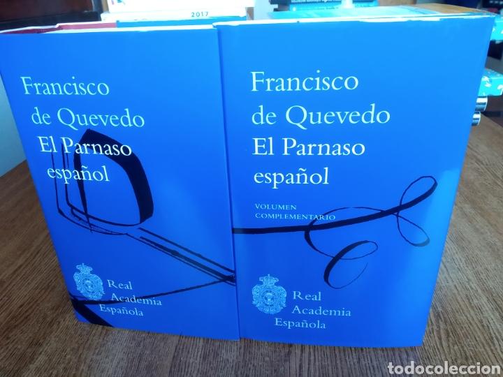 EL PARNASO ESPAÑOL Y VOLUMEN COMPLEMENTARIO. FRANCISCO DE QUEVEDO. 2020. RAE. GONZÁLEZ DE SALAS. (Libros Nuevos - Narrativa - Literatura Española)