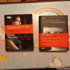 Libros: ENTRA EN MI VIDA Y LO QUE ESCONDE TU NOMBRE. Lote 251909170