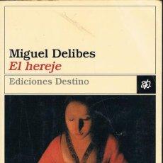 Libros: EL ERJE - MIGUEL DELIBES. Lote 252174905