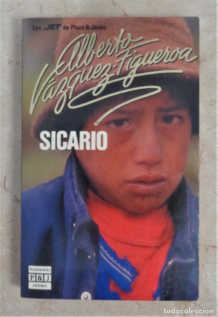 SICARIO ALBERTO VAZQUEZ FIGUEROA SICARIO (Libros Nuevos - Narrativa - Literatura Española)