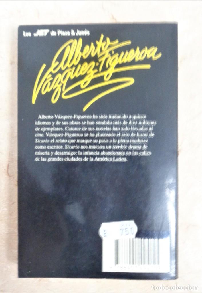 Libros: Sicario Alberto Vazquez Figueroa SICARIO - Foto 2 - 252359625
