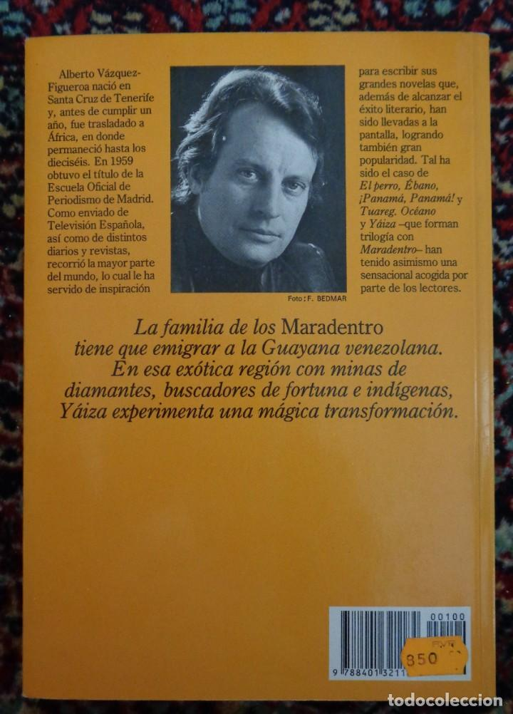 Libros: Alberto Vazquez Figueroa MARADENTRO - Foto 2 - 252371390