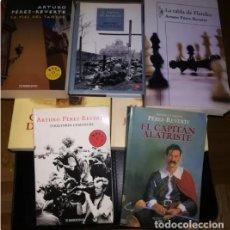 Libros: 3 NOVELAS DE ALATRISTE Y OTRAS 2 DEL MISMO AUTOR (PÉREZ REVERTE). Lote 255379390