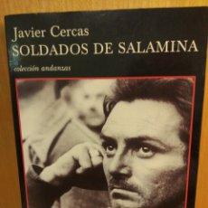 Libros: SOLDADOS DE SALAMINA. JAVIER CERCAS. TUSQUETS. Lote 256162985