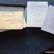 Libros: FACSÍMIL DEL MANUSCRITO DE LA FAMILIA DE PASCUAL DUARTE DE CAMILO JOSÉ CELA. Lote 261272605