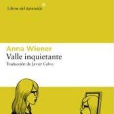 Libros: VALLE INQUIETANTE. Lote 261682150