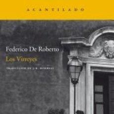 Libros: LOS VIRREYES. Lote 261791505