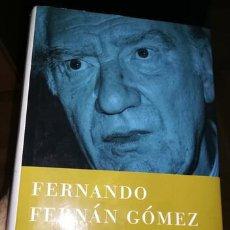 Libros: EL VIAJE A NINGUNA PARTE Y EL TIEMPO AMARILLO DE FERNÁN GÓMEZ. Lote 261956655