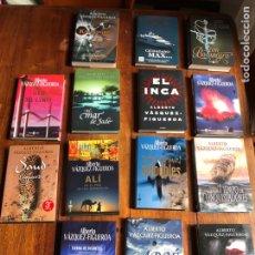 Livros: LOTE 14 LIBROS ALBERTO VAZQUEZ FIGUEROA. Lote 262049140