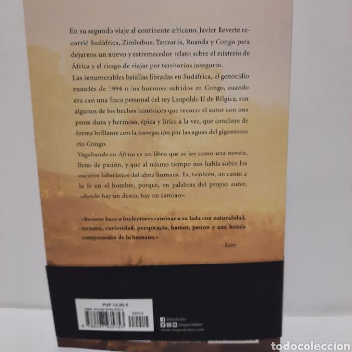 Libros: Vagabundo en Áftica de Javier Reverte - Foto 2 - 262817955