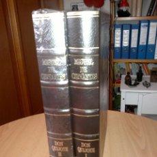 Libros: EL QUIJOTE EDICIÓN LUJO 2 TOMOS SIN ESTRENAR. Lote 262835030