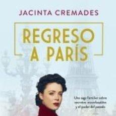 Libros: REGRESO A PARÍS. Lote 262858355