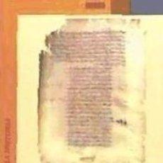 Libros: LA PRIMERA DÉCADA DEL REINADO DE AL-HAKAMI, SEGÚN EL MUQTABIS II, 1. Lote 263611025