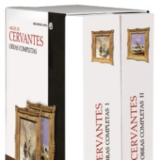 Libros: CERVANTES- OBRAS COMPLETAS (CÁTEDRA AVREA). Lote 263733460