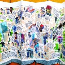Libros: MAPA CULTURAL ILUSTRADO: EL MADRID DE GALDÓS - NUEVO. Lote 266903694