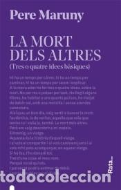 LA MORT DELS ALTRES (Libros Nuevos - Narrativa - Literatura Española)