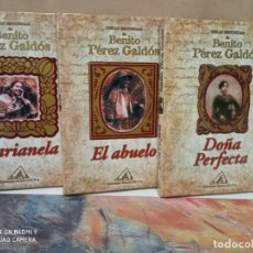 Libros: OBRAS ESCOGIDAS BENITO PEREZ GALDOS. Lote 270920193