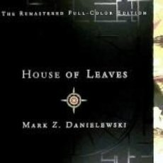 Libros: HOUSE OF LEAVES. Lote 271592013