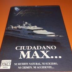 Libros: CIUDADANO MAX ALBERTO VAZQUEZ FIGUEROA. Lote 276072713