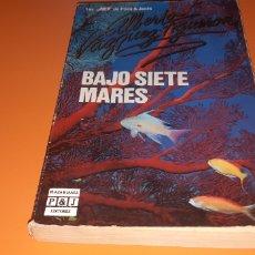 Libros: BAJO SIETE MARES ALBERTO VAZQUEZ FIGUEROA. Lote 276073923