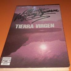 Libros: TIERRA VIRGEN ALBERTO VAZQUEZ FIGUEROA. Lote 276074543