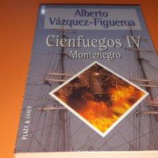 Libros: MONTENEGRO CIENFUEGOS IV ALBERTO VAZQUEZ FIGUEROA. Lote 276077778