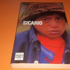 Libros: SICARIO ALBERTO VAZQUEZ FIGUEROA. Lote 276080948