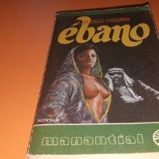 Libros: EBANO ALBERTO VAZQUEZ FIGUEROA. Lote 276082303