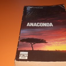 Libros: ANACONDA ALBERTO VAZQUEZ FIGUEROA. Lote 276084458