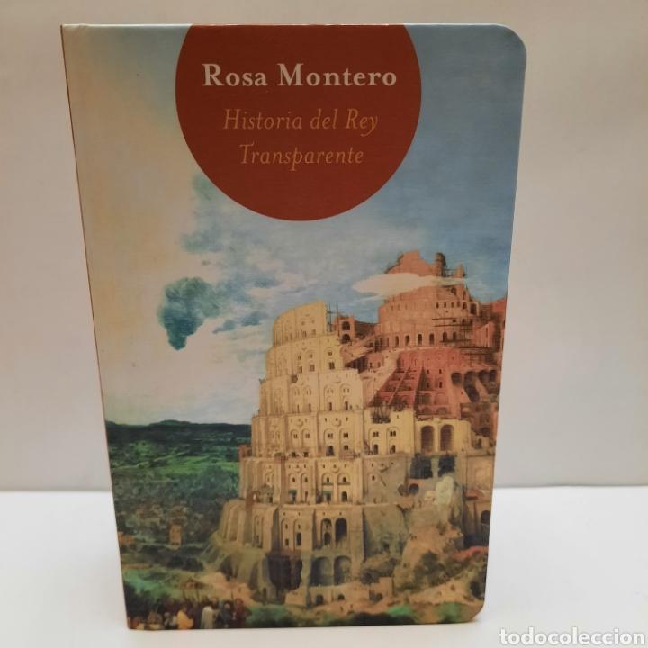 HISTORIA DEL REY TRANSPARENTE DE ROSA MONTERO. MINILIBRO ÚNICO (Libros Nuevos - Narrativa - Literatura Española)