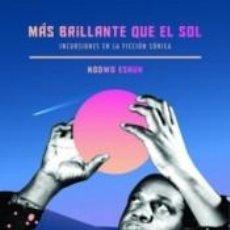 Libros: MAS BRILLANTE QUE EL SOL. Lote 277421563