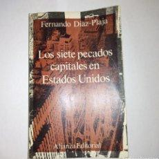 Libros: LOS 7 PECADOS CAPITALES. Lote 278619088