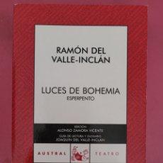 Libros: LUCES DE BOHEMIA RAMON DEL VALLE-INCLAN. Lote 278764588