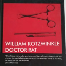 Libros: DOCTOR RAT WILLIAM KOTZWINKLE. Lote 278960458