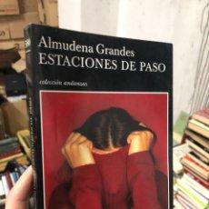 Libros: ALMUDENA GRANDES - CIUDADES DE PASO - TUSQUETS. Lote 287358763